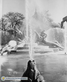 Logan Circle Frozen fountain 2