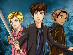 Will it be Percy, Annabeth , Grover, Thalia. Take the test to find out.