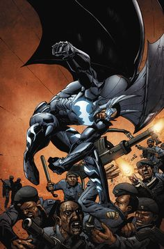 Batwing 16 cover by *BrianReber on deviantART