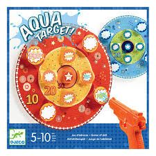 Aqua Target is a fun water game where you aim the water pistol at targets to reveal a score. It's a really fun outdoor game by Djeco Toys. Fun Outdoor Games, Outdoor Toys, Fun Water Games, Fun Games, Pistol Targets, Ready To Play, 8 Year Olds, Puzzles, Ireland