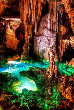 The Luray Caverns, Virginia