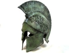 Ancient+Greek+life+size+helmet+from+the+famous+city+of+Sparta,+dated+440+B.C.Sparta+or+Lacedaemon+was+a+prominent+city-state+in+ancient+Greece+in+south-eastern+Peloponnese.+Around+650+BC,+it+rose+to+become...