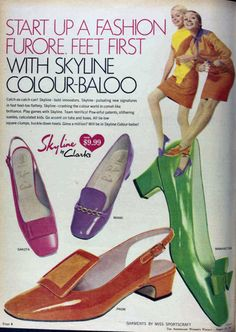 1967 shoe fashions--