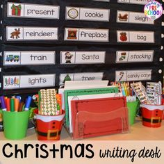 Christmas Activities and Centers for Preschool and Kindergarten: Freebies Too! - Pocket of Preschool