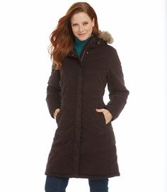 Microsuede Quilted Coat: Winter Jackets | Free Shipping at L.L.Bean