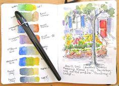 Sketchbook Wandering : Watercolor