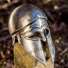 Medieval Knight Templar Greek Ital o Corinthian Steel Helmet Re-enactment Replic Medieval Knight, Knights Templar, Corinthian, Helmet, Greek, Skull, Ebay, Art, Knights Of Templar