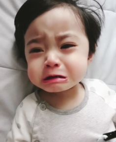 Cute Asian Babies, Korean Babies, Cute Babies, Cute Baby Boy, Cute Little Baby, Little Babies, Cute Kids Pics, Cute Baby Pictures, Baby Crying Face