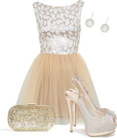 """Glam and Glitter"" by melsabells ❤ liked on Polyvore"