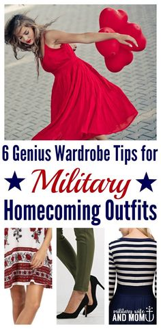Ready to take your military homecoming outfit to the next level? Read this first! **Loved all the tips she shared in this post. Was able to find a military homecoming outfit super fast and for a great price. via @lauren9098