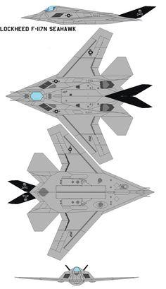 Lockheed F-117N Seahawk by bagera3005 on DeviantArt