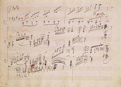 Score sheet of 'Moonlight Sonata': Ludwig van Beethoven