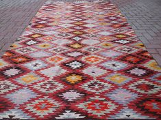 Check out this item in my Etsy shop https://www.etsy.com/listing/291160587/handmade-vintage-turkish-kilim-rug-area
