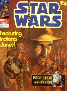Marvel UK Star Wars issue 167 cover by John Higgins