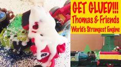 Get Glued - Thomas & Friends World's Strongest Trackmaster Engine
