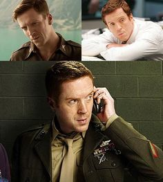 Before They Were 2012 Emmy Nominees: Zooey Deschanel, Benedict Cumberbatch and more: Damian Lewis @Showtime Networks