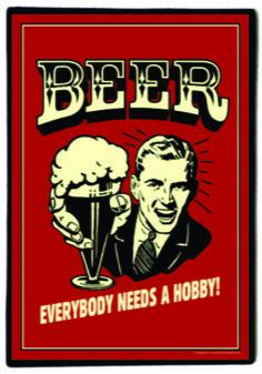 Quadro Beer Retrô