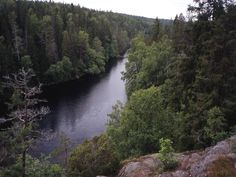 The deep gorges of Helvetinjärvi National Park were formed millions of years ago by faults in the bedrock running right through the area. Today this rugged scenery attracts hikers for both day trips and camping. From the Park it is possible to walk all the way to Riuttaskorpi recreational forest and Seitseminen National Park on hiking routes called Pirkan Taival.