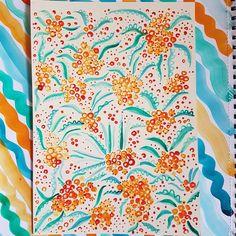 New patterns. Pattern Making, Teal, Curtains, Shower, Orange, Patterns, Prints, Rain Shower Heads, Block Prints