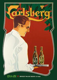 Carlsberg #1 plakat - Køb online hos Permild & Rosengreen
