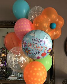 Mother's Day Bouquets Mother's Day Bouquet, Happy Mothers Day, Bouquets, Balloons, Bouquet, Nosegay, Balloon