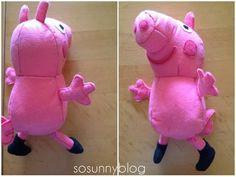 SO SUNNY Peppa Pig felt tutorial  Cómo hacer una Peppa Pig de fieltro