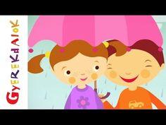 Bújj, bújj zöld ág (gyerekdal, rajzfilm gyerekeknek) - YouTube