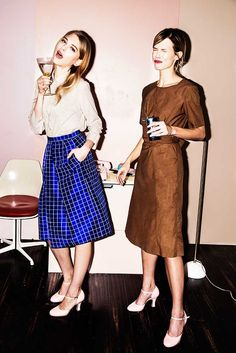 Rachel Antonoff fashion designer, Fall 2016 collection lookbook   I love this lookbook, because it's both glamorous, funny and from a branding point of view, it seems they know who they're targeting. It's for cool young women, who like to look dashing even at the office, and to own pieces that can easily take the from day to night