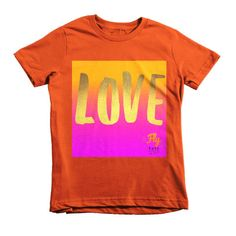 Love Fly Tots Izzy Short sleeve kids t-shirt