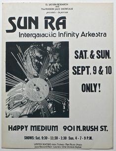 Sun-Ra Intergalactic Infinity Arkestra ▲ September 9 & 10, 1978 ▼ Chicago