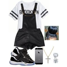 Black and white, created by taytay72468 on Polyvore