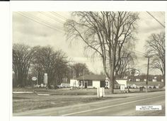 This photo taken in April 1942 depicts the intersection of Richmond Road and Carling Avenue at Britannia Heights. My late father, Harry Schroeter, operated the Esso Service Station at this location from 1947 until the early 1960's. Behind the garage is Dayton's Villas, a grill curb service with tourist cabins( called a motor court at the time) established in 1941 and operated by Alex Dayton. The motor court was the predecessor to what would come to be called the Town and Country Motel. Town And Country, Gypsy Style, Ottawa, Motel, Villas, Cabins, Ontario, Garage, Father