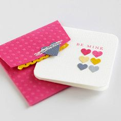 Punched Heart Cards and other great handcrafted cards for Valentines!