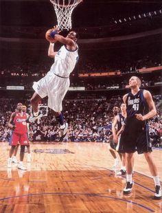 Tracy McGrady Orlando Magic Dirk Nowitzki Dallas Mavericks All-Star Game