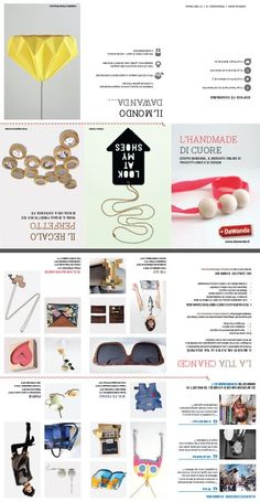 Projects: Promotional DaWanda flyer