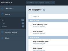 Invoicer app