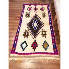 Image of Vintage Moroccan Azilal Rug