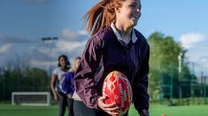 Rugby league is a bold, dynamic and welcoming sport where players come together to compete in teams in a fun environment. #ThisGirlCan