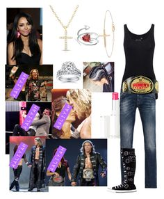 """""""🌸Aaliyah🌸FLASHBACK Edge goes to fight Matt Hardy and Lita comes out and attack Aaliyah"""" by serenamarie273 on Polyvore featuring Juvia, Anne Sisteron, Ross-Simons, Bling Jewelry, ADAM, Lancôme, Kobelli, Armani Jeans and Converse"""