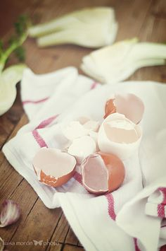 cáscaras de huevo. www.luisamoron.com
