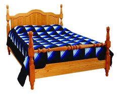 Amish Cathedral Crest Bed