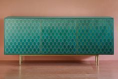 Une deco vert emeraude : Enfilade, collection Shamsian Nizwa (Bethan Gray)
