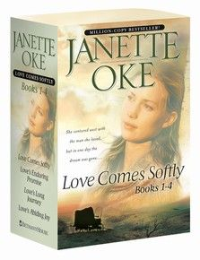 Love Comes Softly series by Janette Oke, one of my favorites.