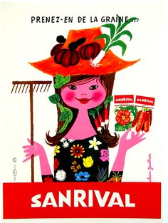 50's vintage advertisements seeds - Google Search