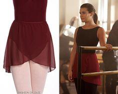 Capezio Dancewear Even-Hem Georgette Wrap Skirt - $19.90 Worn with: Ryan Ryan necklace