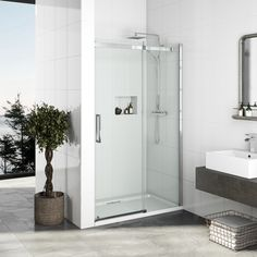 Conforming to all relevant British Standards, our shower doors are both durable and stylish, with a choice of bi-fold, glass and folding shower doors. Frameless Sliding Shower Doors, Sliding Doors, Shower Pods, Shower Fittings, Shower Cabin, Shower Accessories, Shower Systems, Shower Enclosure, Contemporary Bathrooms