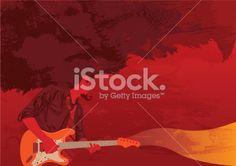 Hard Party Rock music Royalty Free Stock Vector Art Illustration