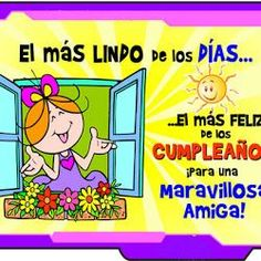 Happy Birthday to You, Felicidades - ツ Imagenes para Cumpleaños ツ Happy Birthday Candles, Happy Birthday Images, Birthday Messages, Happy Birthday Wishes, Birthday Quotes, Birthday Cards, Birthday Stuff, Happy B Day, Get Well Cards