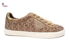 Guess , Baskets pour femme multicolore Beige/Bronzo 40 - Chaussures guess (*Partner-Link)