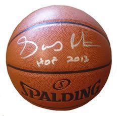 "Gary Payton Autographed Spalding NBA Indoor / Outdoor Basketball w/ ""HOF 2013"" Inscription, Proof Photo"